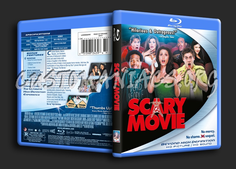 Scary Movie blu-ray cover