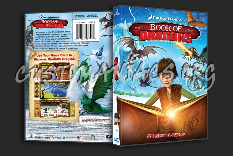 Book of Dragons dvd cover