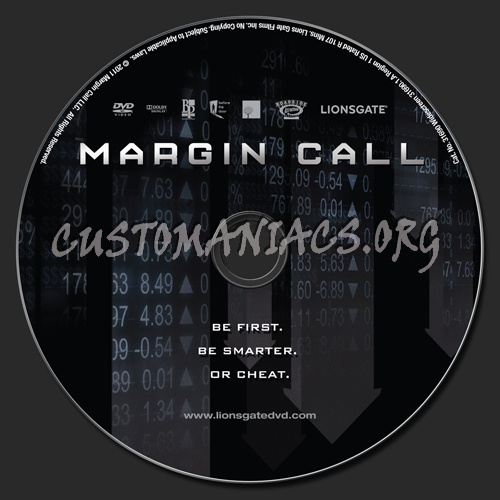 Margin Call dvd label