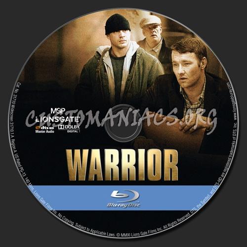Warrior blu-ray label
