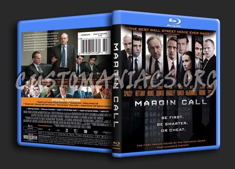Margin Call blu-ray cover