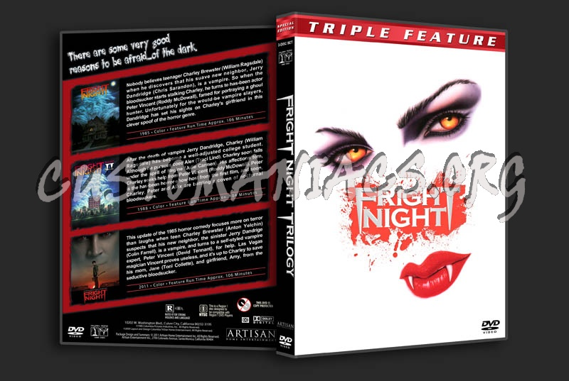 Fright Night Trilogy dvd cover