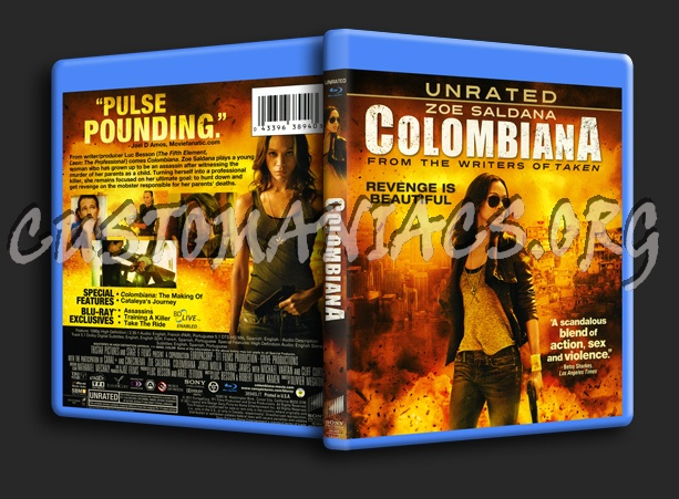 Colombiana blu-ray cover