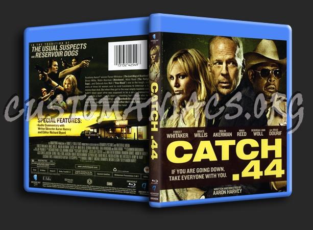 Catch .44 blu-ray cover