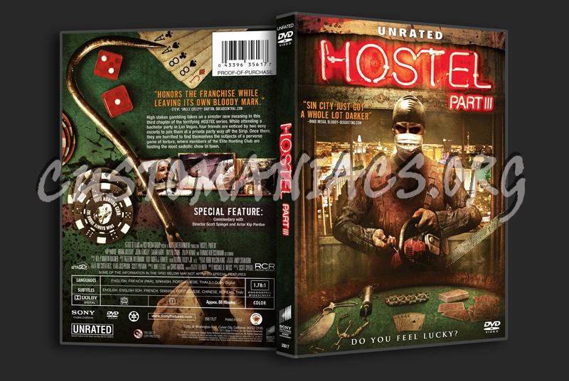 Hostel: Part III dvd cover