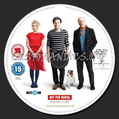 Beginners dvd label
