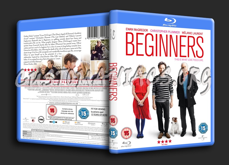 Beginners blu-ray cover