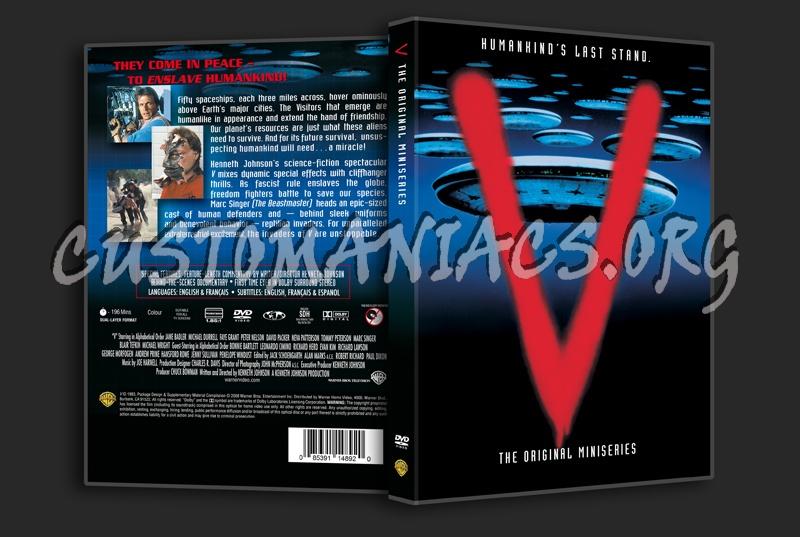 V The Original Miniseries dvd cover