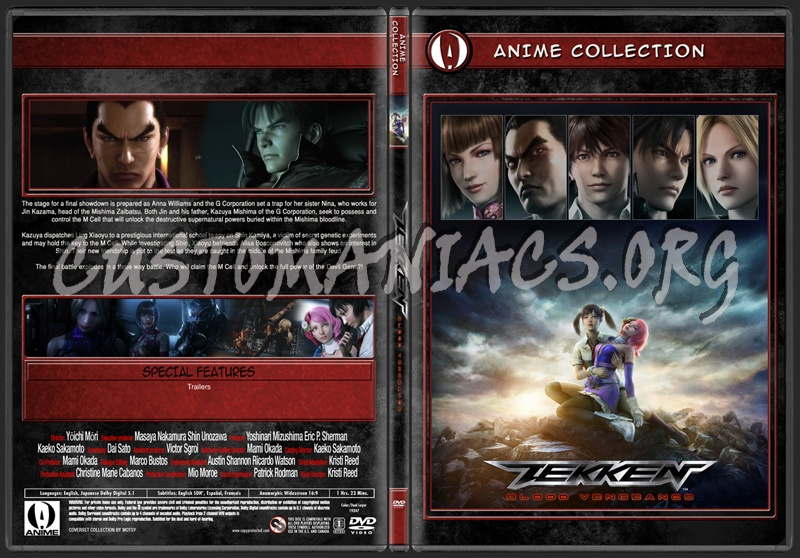Anime Collection Tekken Blood Vengeance