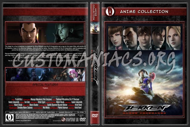 Anime Collection Tekken Blood Vengeance dvd cover