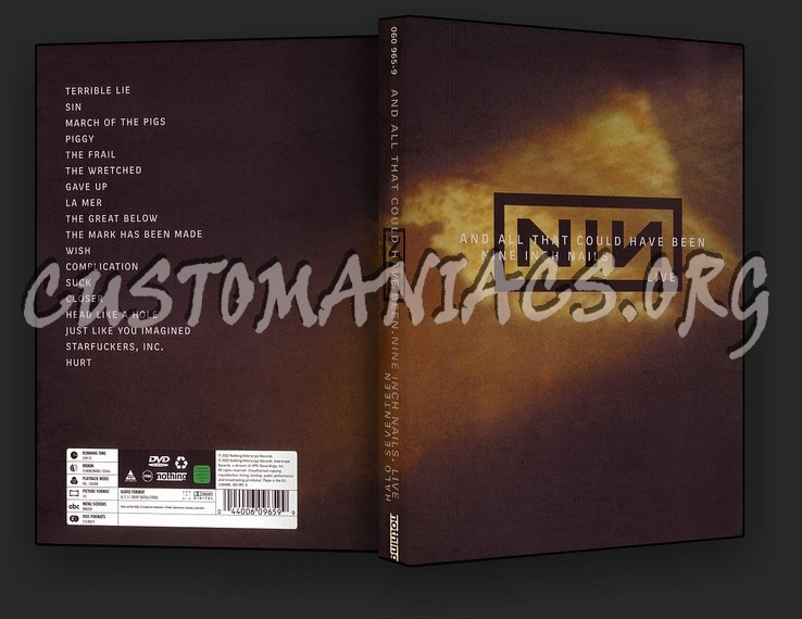 Nine Inch Nails - And All That Could Have Been dvd cover - DVD ...