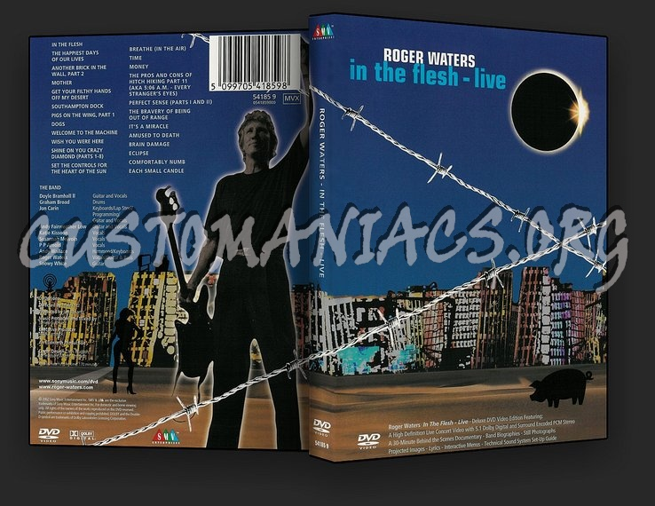 Roger Waters - In The Flesh Live dvd cover