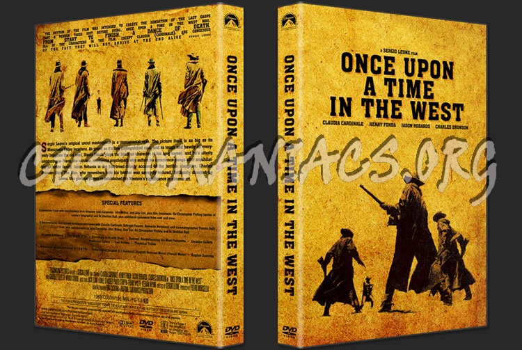 Once Upon A Time In The West dvd cover