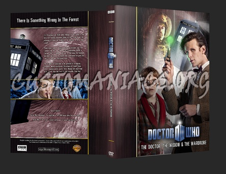 Doctor Who - The Doctor, The Widow and the Wardrobe dvd cover