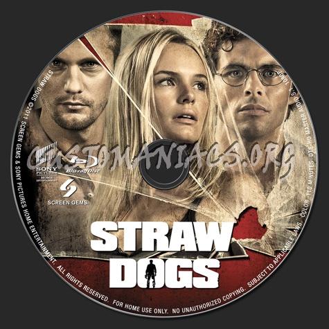 Straw Dogs (2011) blu-ray label
