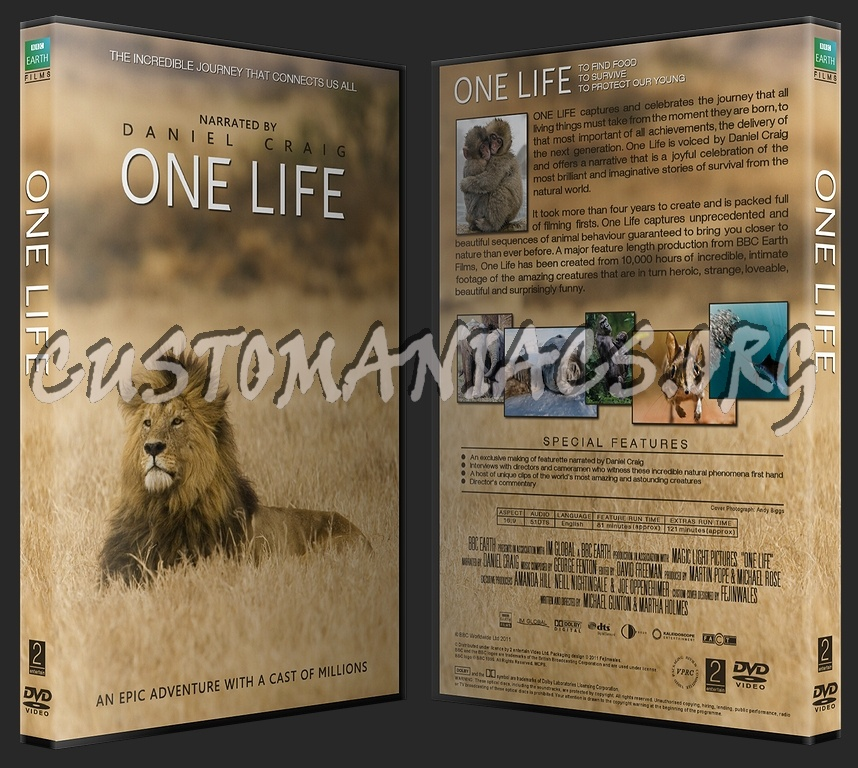 One Life BBC dvd cover