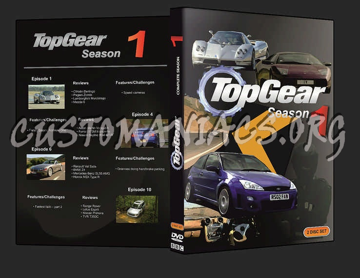 top gear season 1 dvd cover dvd covers labels by customaniacs