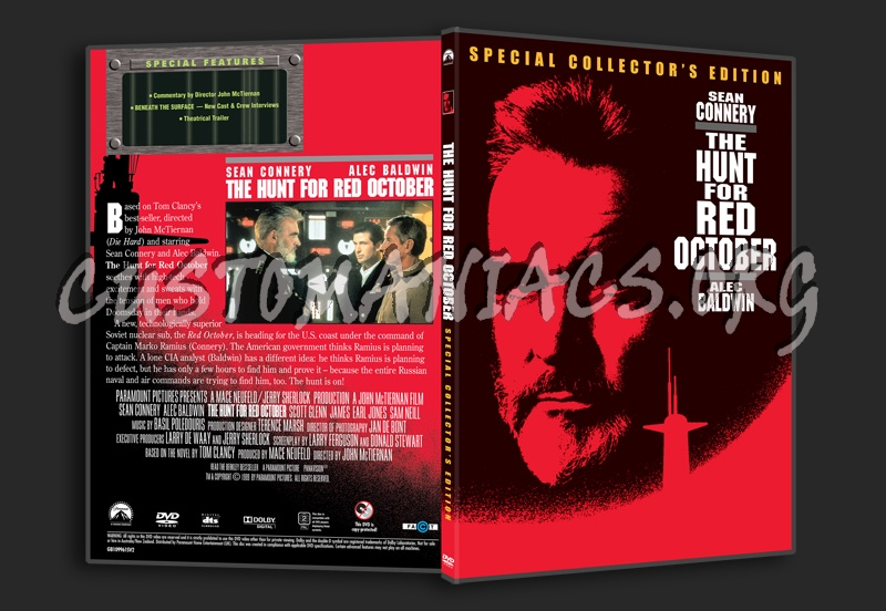 The Hunt for Red October - DVD Covers & Labels by