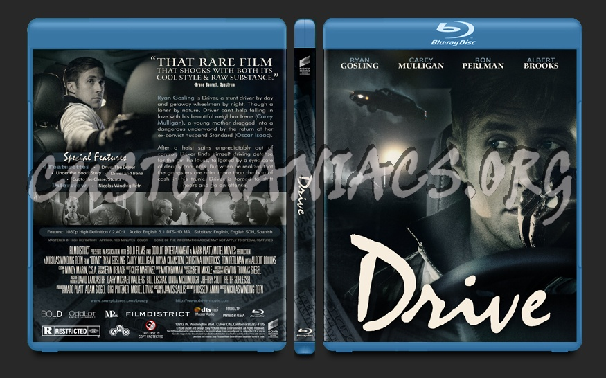 Drive blu-ray cover