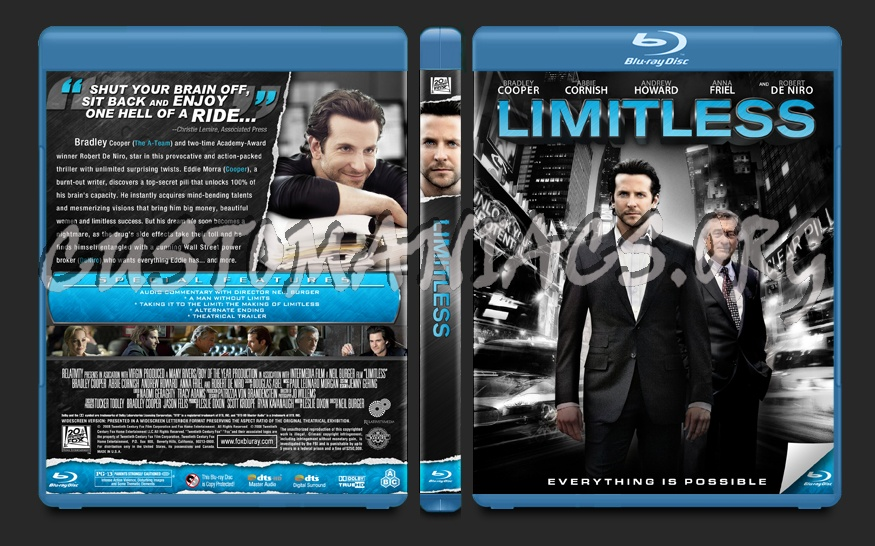 Limitless blu-ray cover