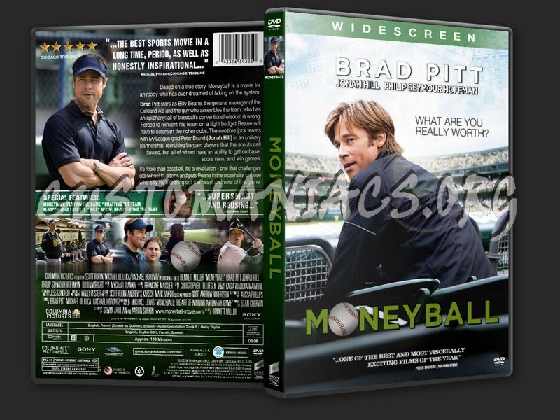 Moneyball (2011) dvd cover
