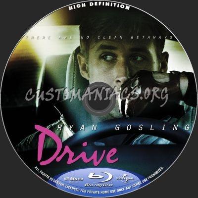 Drive blu-ray label
