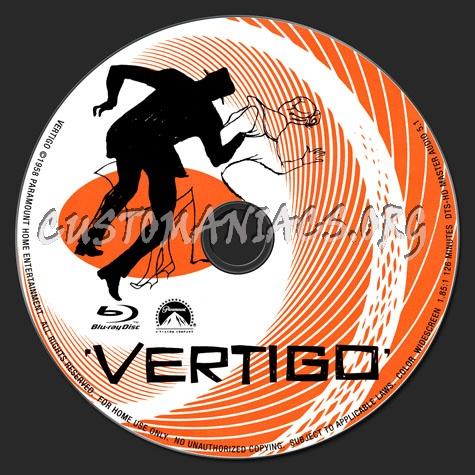 Vertigo blu-ray label