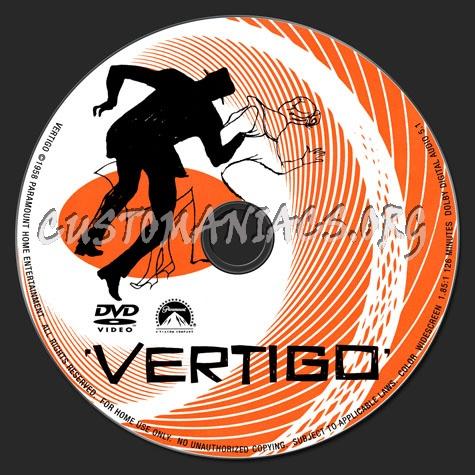 Vertigo dvd label