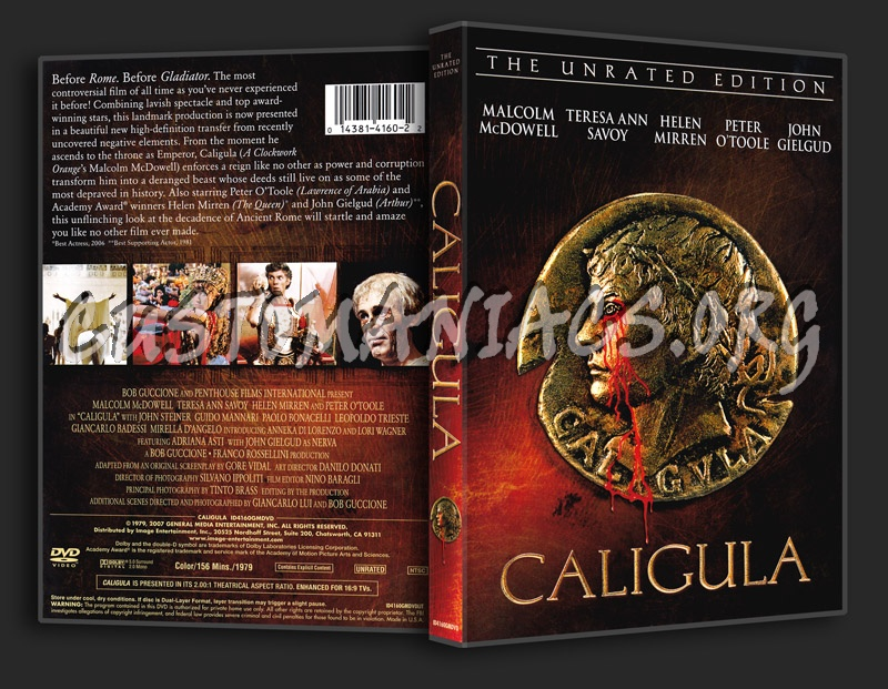 Caligula dvd cover