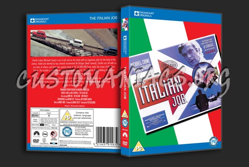 The Italian Job (1969) dvd cover
