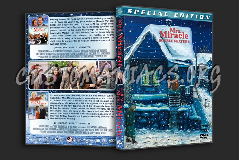 Mrs. Miracle Double Feature dvd cover
