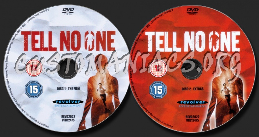 Tell No One dvd label