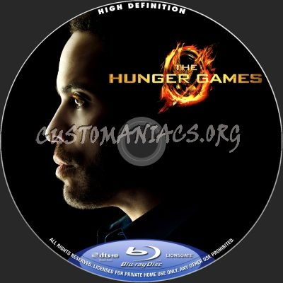 The Hunger Games blu-ray label