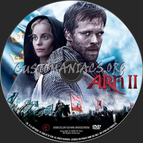 Arn II dvd label