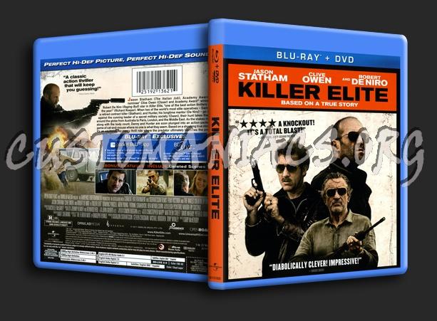 Killer Elite blu-ray cover