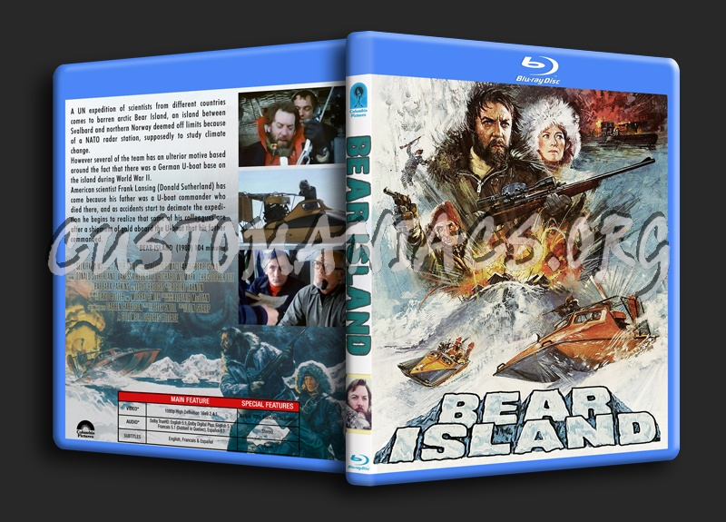 Bear Island blu-ray cover