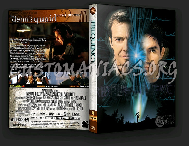 Frequency dvd cover