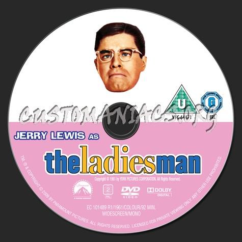The Ladies Man (1961) dvd label