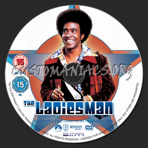 The Ladies Man (2000) dvd label