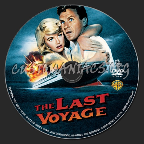 The Last Voyage dvd label
