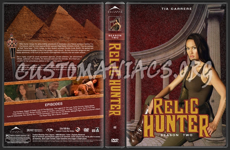 Relic Hunter Seasons 1 3 Dvd Cover Dvd Covers Labels By