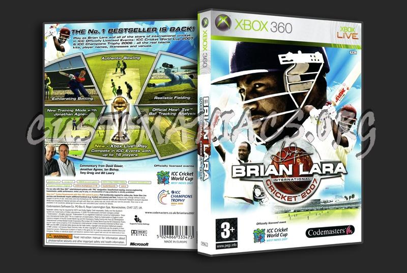 Brain Lara International Cricket dvd cover