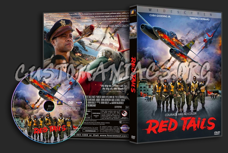 Red Tails dvd cover