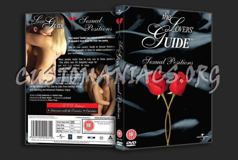 The Lovers Guide Sexual Positions dvd cover
