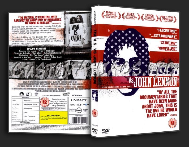 The U.S. vs John Lennon dvd cover