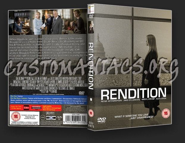 Rendition dvd cover
