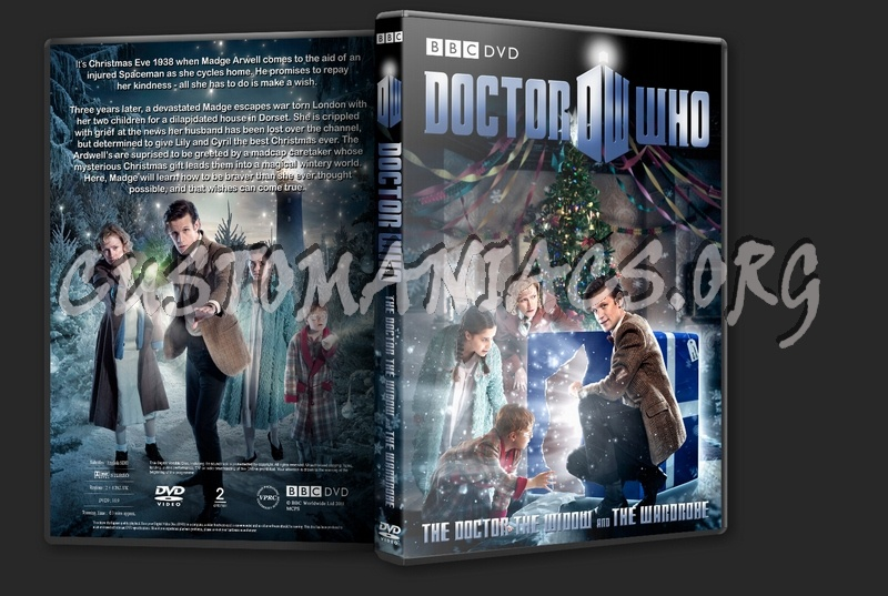 Doctor Who - The Doctor, The Widow and The Wardrobe Christmas Special (2011) dvd cover