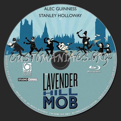 The Lavender Hill Mob blu-ray label