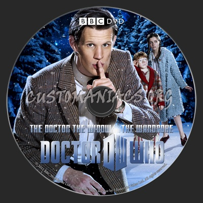 Doctor Who - The Doctor, The Widow and The Wardrobe Christmas Special (2011) dvd label