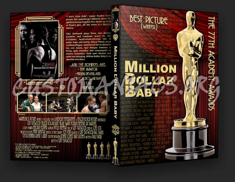 Million Dollar Baby dvd cover